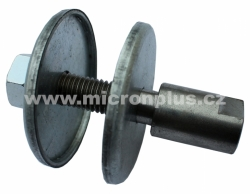 Reduction for angle grinder, thread M14, lenght 60mm