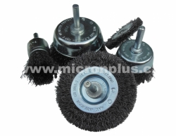 "DIY-Set ""PRO"" 5-piece set of Osborn brushes on the shank D6: wire wheel D50 a D75"