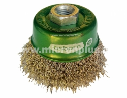 Osborn pot brush, D75 with screw-thread M14x2,0