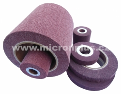 Lamellar disc 400x50-130 A180 Non-woven with hole