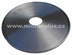 Clamping flange for fíber disc